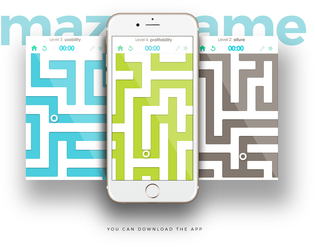 Ashland maze game app