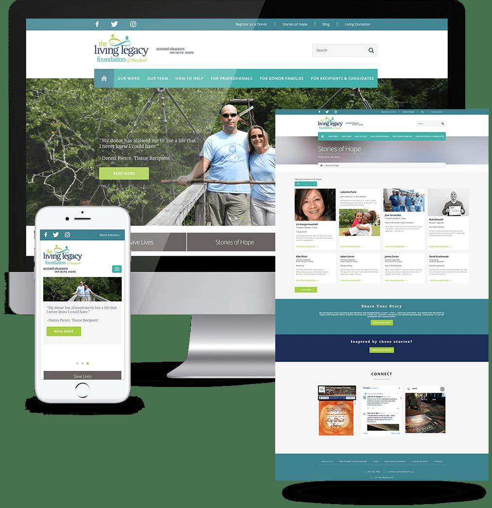 Non-Profit Website Redesign